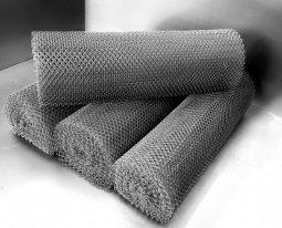 Сетка рабица d=1,8 мм, ячейка 30x30 мм, 1500x1000 мм, оцинкованная
