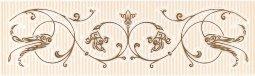 Бордюр Cracia Ceramica Анжер Венге 01 25x7,5