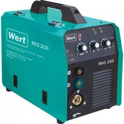 Инверторный сварочный полуавтомат WERT MIG 200 220В