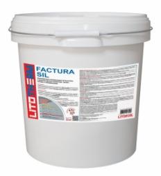 Штукатурка Litokol Litotherm Factura Sil  Шуба декоративная акриловая 2,0 мм Пастельные Тона
