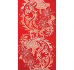 Декор Lasselsberger Азур красный 25х45
