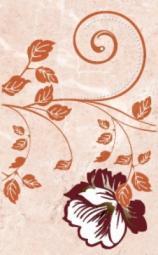 Декор Нефрит-керамика Грато 04-01-1-09-03-41-420-2 40x25 Розовый
