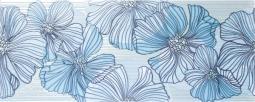 Декор Kerama Marazzi Челси B1457\7000 20х50 голубой