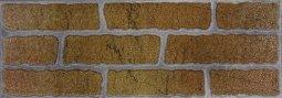 Плитка для стен Сокол Кремль KS-2-2 оранжевая полуматовая 12х36.5