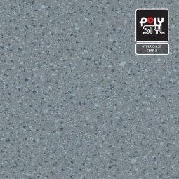 Линолеум Полукоммерческий Polystyl Hyperion SB Star 3 4м рулон