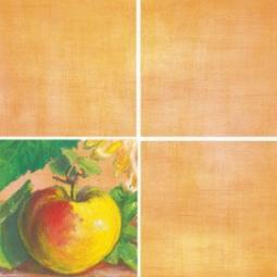 Декор Нефрит-керамика Акварель 04-01-1-14-03-35-072-2 20x20 Оранжевый