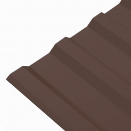Профнастил МП-20 (RAL 8017) шоколад 1150x2000x0.45