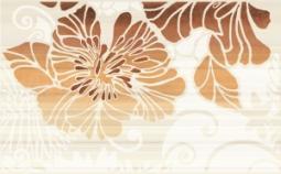 Декор Нефрит-керамика Кензо 04-01-1-09-03-15-075-2 40x25 Оранжевый