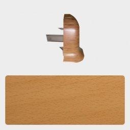Наружный угол Т-пласт 86 мм с центральной съемной панелью Бук Энглера