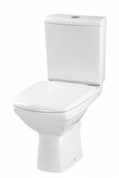 Унитаз напольный Cersanit Carina New Clean On 011 с сиденьем дюропласт S-KO-CAR011-3/5-COn-DL