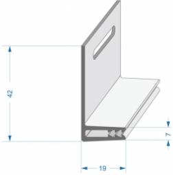 Базовая планка для внутреннего угла Docke