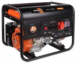 Генератор бензиновый Patriot GP-6530 5000/5500 Вт ручной запуск