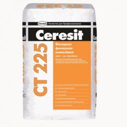 Шпатлевка Ceresit СТ225 фасадная финишная белая 25 кг