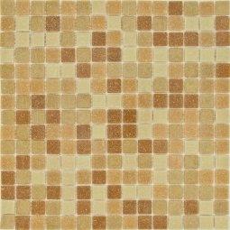 Мозаика Гранит Холл Микс Brown коричневая матовая 32.7х32,7