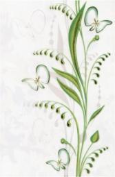 Декор Береза-керамика Нарцисс лето салатный 20х30