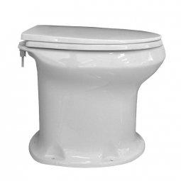 Унитаз дачный Оскольская Керамика с сиденьем Элисса-Н