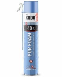 Монтажная пена Kudo Home 40+ бытовая всесезонная (1000 мл)