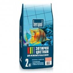 Затирка Bergauf Kitt на цементной основе для швов до 5 мм черная/графит (2кг)