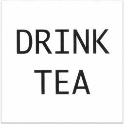 Декор Kerama Marazzi Итон DRINK TEA AD\A170\1146T 9.9х9.9