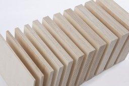 Фанера ФК шлифованная с 1 стороны 3x1525x1525 мм, сорт 2/4, береза