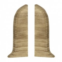 Заглушка торцевая левая и правая (блистер 2 шт.) Salag Пиния 56