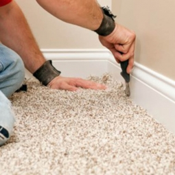 Настил коврового покрытия (без приклеивания) более 50 м2