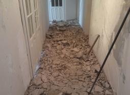Демонтаж бетонной стяжки до 5 см