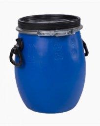 Бочка Тара пластиковая крышкой на обруч 30 литров
