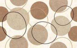 Декор Нефрит-керамика Айвенго 04-01-1-09-03-23-116-1 40x25 Коричневый