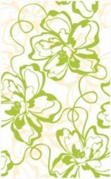 Декор Нефрит-керамика Кураж 2 04-01-1-09-00-81-050-0 40x25 Зелёный
