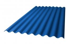 Шифер кровельный 7-волновой 1750х980х5.8мм, синий