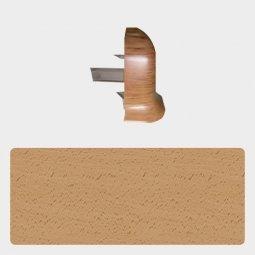 Наружный угол Т-пласт 47 мм Бук Энглера Светлый