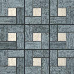 Мозаика Kerranova Timber структурированный мербау 30x30