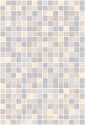 Плитка для стен Керамин Гламур 7С Серый 40x27,5