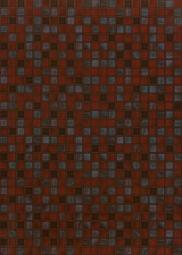 Плитка для стен Береза-керамика Квадро бордовый 25х35