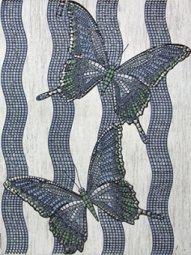 Декор Сокол Шервудский лес D755 орнамент полуматовый 33х44