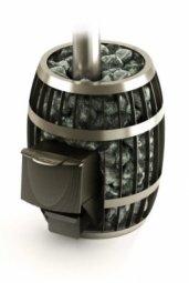 Печь для бани Термофор Саяны Carbon антрацит дровяная