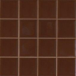 Плитка для стен Сокол Моно MC6 коричневая глянцевая 33х33