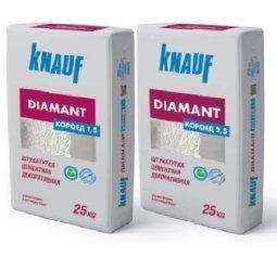 Штукатурка Knauf Диамант Короед декоративная 1,5 мм