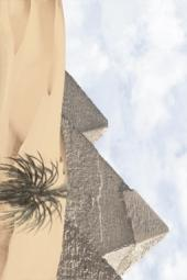 Вставка Golden Tile Luxor голубой 091331 200х300