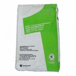 Цемент Сухоложский ЦЕМ II/ В-Ш 32,5Н, (ПЦ400-Д20) 50кг (зеленый мешок)
