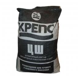 Штукатурка Крепсолит ЦШ 25 кг