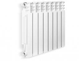 Радиатор алюминиевый Lietex 500-96С 8 секц.