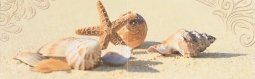 Панно Cracia Ceramica Amalfi Sand Panno 03 25x80