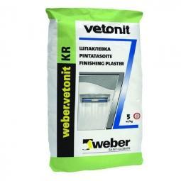 Шпатлевка Weber.Vetonit KR финишная для сухих помещений 5 кг