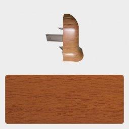 Наружный угол Т-пласт 86 мм с центральной съемной панелью Орех Антик