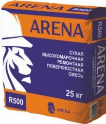 Гидроизоляционная смесь Arena RepairMaster R500 тиксотропная серая, 25 кг