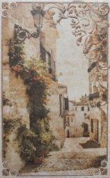Декор Cracia Ceramica Palermo Beige Decor 02 25x40