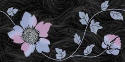 Декор Нефрит-керамика Болеро 04-01-1-10-03-65-122-2 50x25 Чёрный
