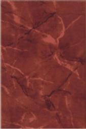 Плитка для стен Керамин Рим 3Т Бордовый 30x20
